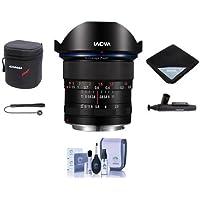 Venus Laowa 12mm f/2.8 Zero-D Ultra-WideAngle Lens for Canon EF Cameras - Bundle With Lens Case, Lens Wrap, Cleaning Kit, Capleash II, Lenspen Lens Cleaner