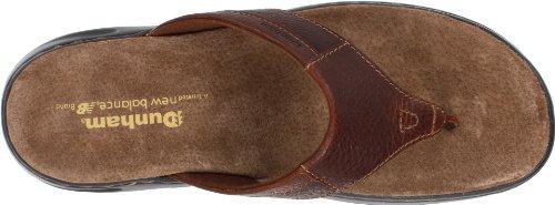Sandalo Infradito Dunham Mens Biscayne Marrone