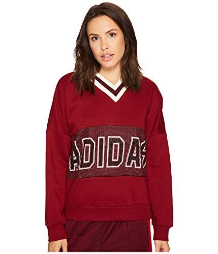 adidas Originals Women's Adi Break Sweatshirt Maroon Small by adidas Originals