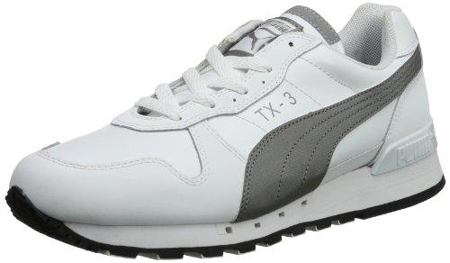 Puma TX-3 NM Interest Wn's - Caña baja de cuero mujer blanco - Weiß (white 02)