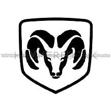 Dodge Ram Logo Die Cut Vinyl Car Decal Wall Sticker