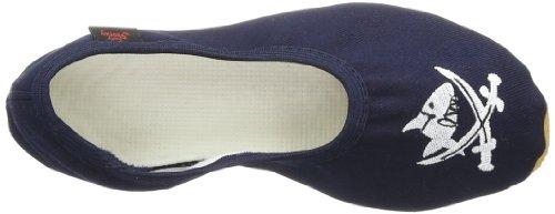 Capt'n Sharky Justus 140007 - Zapatillas de gimnasia para niño, color azul, talla 27 Azul (Blau (ozean/see 5))