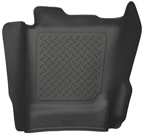 Husky Liners Center Hump Floor Liner Fits 14-18 Silverado/Sierra Crew/Double, 15-19 2500/3500HD Crew/Double, 2019 Silverado 1500 LD, 2019 Sierra 1500 Limited