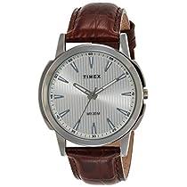 Timex Analog Silver Dial Men's Watch-TW00ZR286E