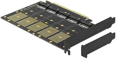 Delock Pci Express X16 Karte Zu 5 X Intern M 2 Key B Computer Zubehör