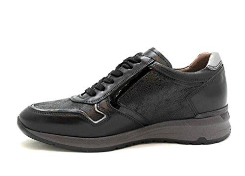 Noir de Chaussures Nero à femme ville pour Giardini lacets EqC5C8