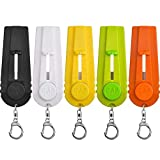 TOODOO 5 Pieces Cap Zappa Beer Bottle Opener Cap Shooters Launchers with Key Ring, 5 Colors Review