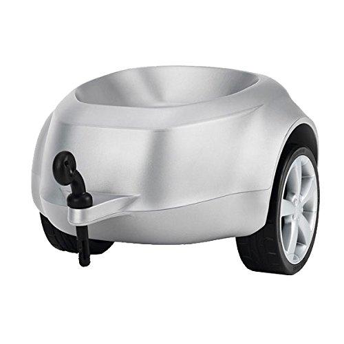 Audi Junior quattro Anhänger Silber - Audi Bobby-Car Anhänger