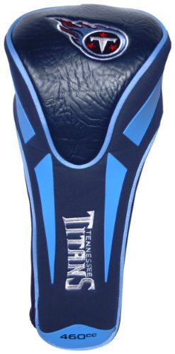 Team Golf NFL Tennessee Titans Golf Club Single Apex Driver Headcover, Fits All Oversized Clubs, Truly Sleek Design