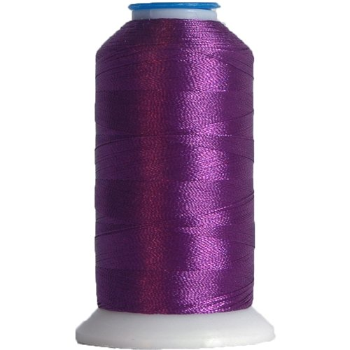 (Polyester Machine Embroidery Thread By the Spool No. 488 - Iris - 1000M - 200 Colors)