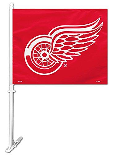 Detroit Red Wings Car FLag