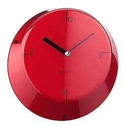 BUGATTI - Glamour Wall Clock Ø33 cm. Red