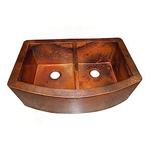 41JBrMu0NaL._SS300_ Copper Farmhouse Sinks & Copper Apron Sinks