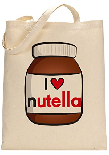 Custom Made Nutella Lover Tote Bag 7RTpq