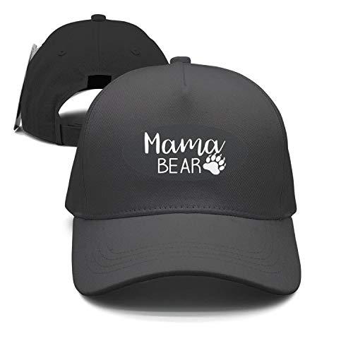 (Unisex Mama Bear Claws Snapback Hat Adjustable Best caps)