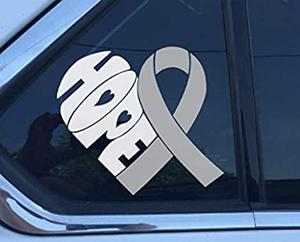 Diabetes Awareness Ribbon  Vinyl Wall Decal or Car Sticker