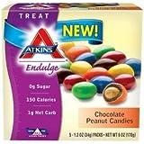 Atkins Endulge Chocolate Peanut Candies (1 box x 5 bags)