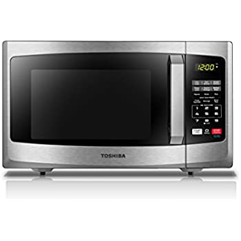 Toshiba EM925A5A-SS Sound on/Off and Eco Mode Microwave Oven, 0.9 cu. ft. 900W, Stainless Steel