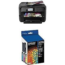 Epson (WF-7720) Inkjet Printer with C/M/Y Standard Capacity Cartridges