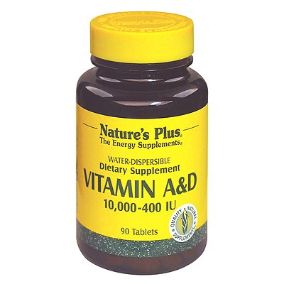 Cheap Nature's Plus Vitamin A and D 10000-400 IU – 90 Tablets