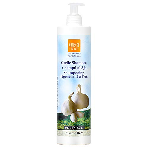 Ever Ego Italy Garlic Shampoo Plus Vitamin A 16.9 ounces