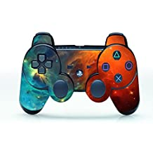 UUShop Cosmic Nebular Vinyl Skin Decal Cover for Playstation 3 Controller wrap sticker ps3 controller skins
