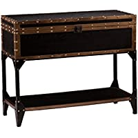 Upton Home Duncan Travel Narrow Trunk Console/ Sofa Table With Storage