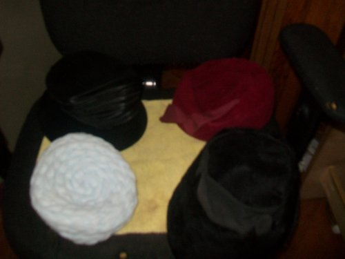 4 Vintage Hats