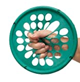 Cando Hand Exercise Web - Low Powder, green (medium resistance), 7'' diameter by Fabrication Enterprises