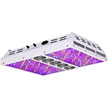 VIPARSPECTRA Dimmable Series PAR1200 1200W LED Grow Light - 2 Dimmers 12-Band Full Spectrum for Indoor Plants Veg/Bloom