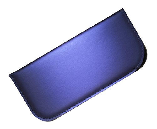 Soft Slip In Eyeglass Case For Women & Men - Matte Metallic Finish in - Eyeglasses Dallas