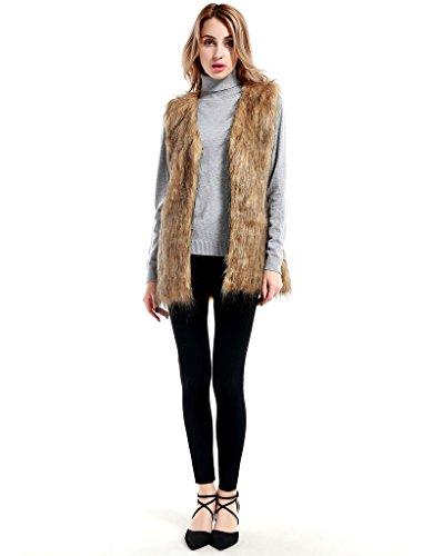Long Fur Vest - 9