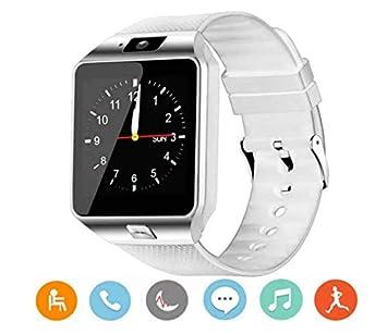 2242abf979ca0 WildWear® DZ09 Reloj Inteligente con Cámara TF Ranura de Tarjeta SIM ...