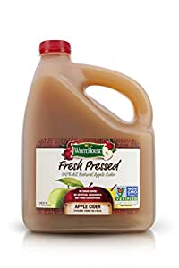 White House Foods Fresh Pressed Apple Cider (1 Gallon)