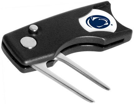 (Penn State Nittany Lions Spring Action Divot Tool with Golf Ball Marker (Set of 2))
