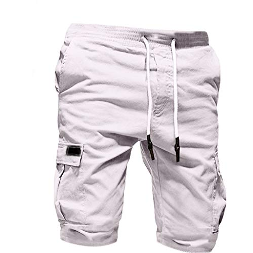 Men's Casual Pants Sport Pure Color Bandage