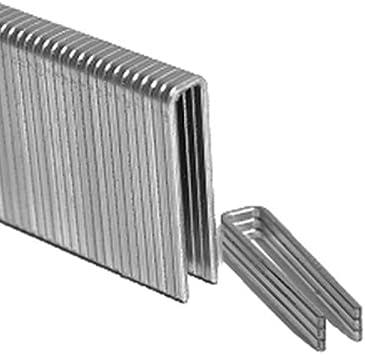 L High Carbon Steel  Flooring Staples  15-1//2 Ga 1000 pc. Porta-Nails  2 in