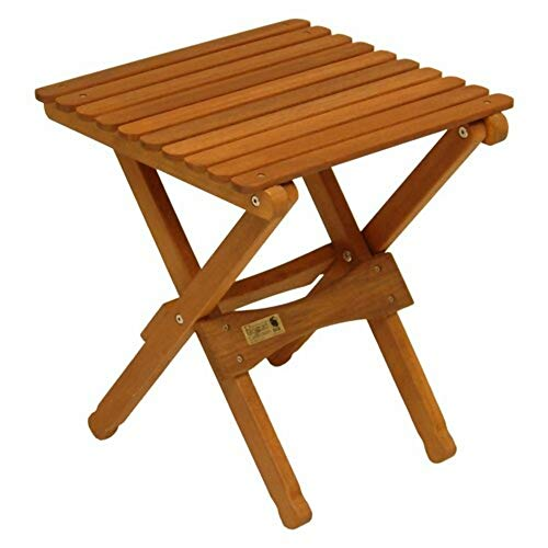 Freeport Park Keruing Wood Folding Chat Table + Free Basic Basic Design Concepts Expert Guide