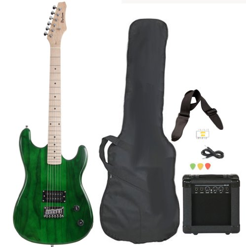 full-size-green-electric-guitar-with-amp-case-and-accessories-pack-beginner-starter-package