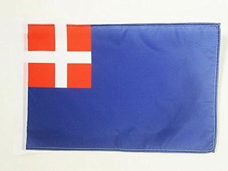 fl SARDINIEN FAHNE  30 x 45 cm FLAGGE SARDINIEN ARAGONIEN 45x30cm mit kordel