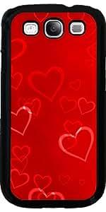 Funda para Samsung Galaxy S3 (GT-I9300) - Modelo Rojo Del Corazón by Grab My Art