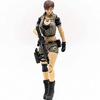 JoyToy 1/18 Soldier Action Figures 4-Inch CF LieHu Female Anime Figure Dark Source Cross Fire Game Collection Action Figure Military Model Toys