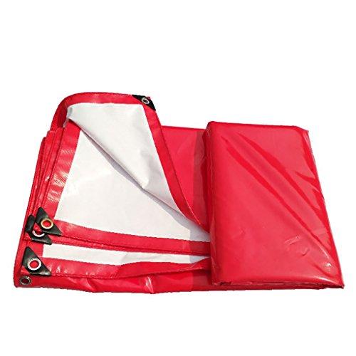 福祉あご召喚するテント 雨布厚い断熱テント防水布雨布防水布厚いプラスチックシート様々なサイズのパンチングロープキャンバス (サイズ さいず : 3 * 4m)