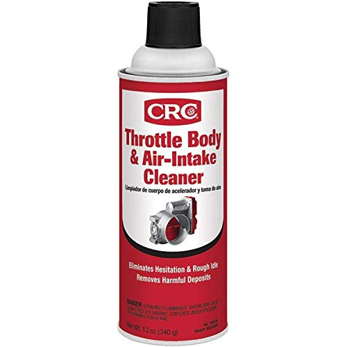 CRC 05078 Throttle Body and Air-Intake Cleaner-12 oz