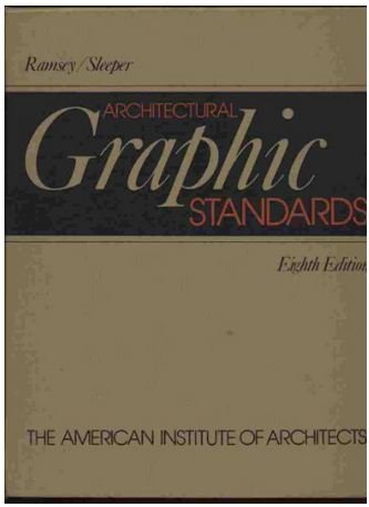 Ramsey/Sleeper architectural graphic standards, eighth edition