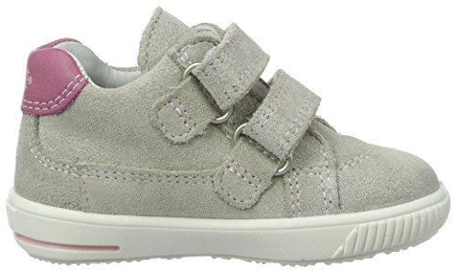 Marche Fille Kombi Bébé Moppy Chaussures Gris Silber Gris Superfit w1IqaEFnw