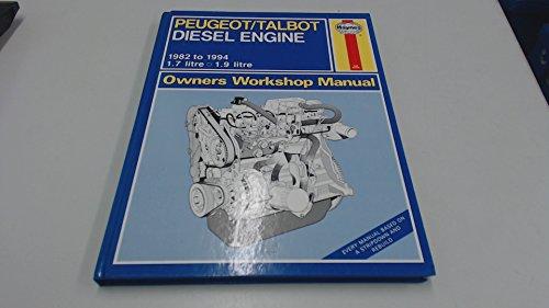 Peugeot/Talbot (1.7 & 1.9) Diesel Engine Owner's Workshop Manual (Service & repair manuals) Diesel Crankshaft