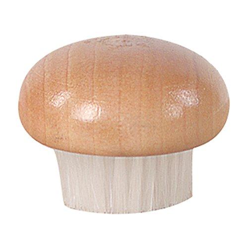 Fox Run 3135 Wood Mushroom Brush, Nylon Bristles (Fox Vegetable Run Brush)