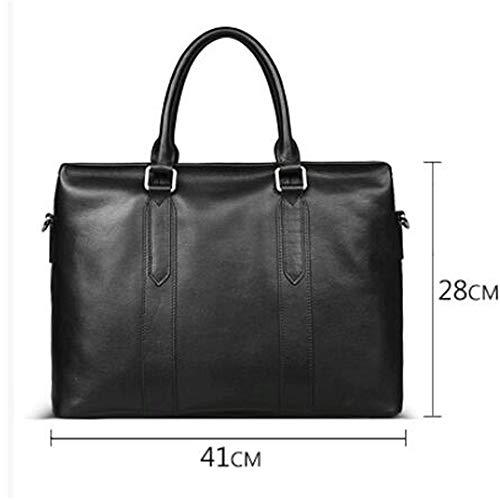 In Pelle Tote Bag Una Trend Uomo Fashion Bovina Borsa Casual Crossbody Business Gtnlg Mucca xqHwE6E