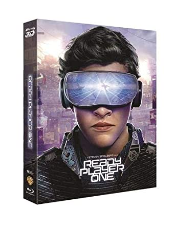 Ready Player One 3d Region Free Steelbook Blu Ray 3d Collector S Cards Novamedia Movies Tv